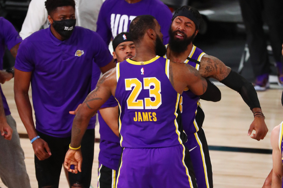 NBA: un immense LeBron James envoie les Lakers en finale