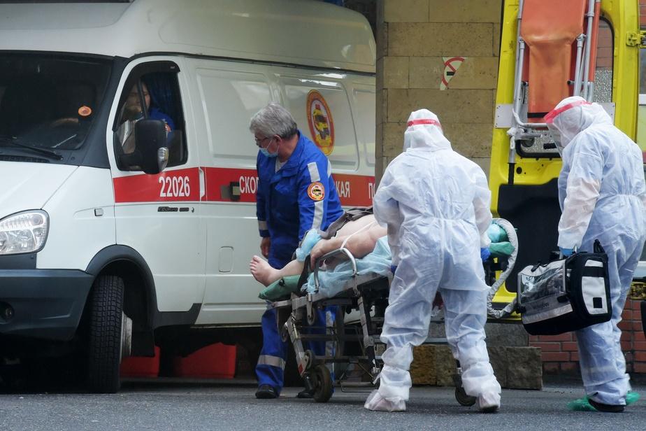 La Russie bat son record avec 12 126 nouveaux cas quotidiens — Coronavirus
