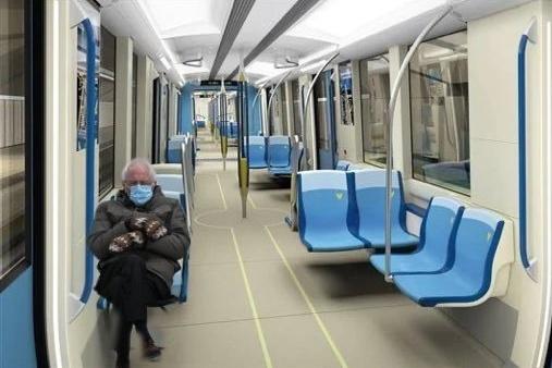 Transi, dans le métro deMontréal