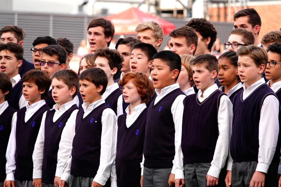 Les Petits Chanteurs du Mont-Royal restent au Collège Notre-Dame