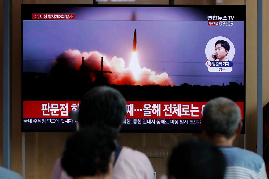 La Corée du Nord a tiré de nouveaux projectiles