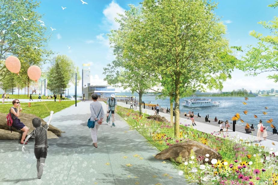 Les piétons et cyclistes auront accès à plus d'espaces verts et de plans d'eau.