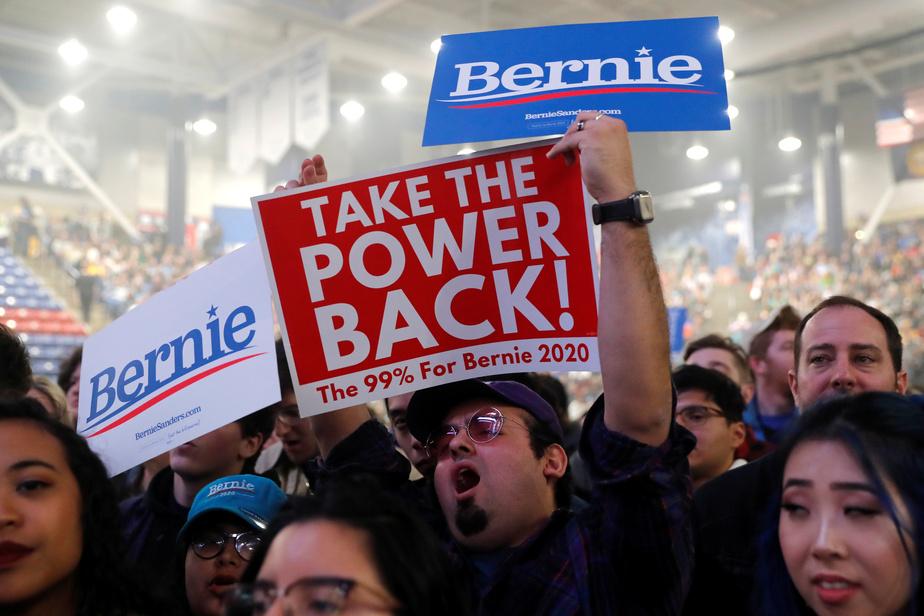 Bernie Sanders affirme être en tête, selon ses propres chiffres — Etats-Unis