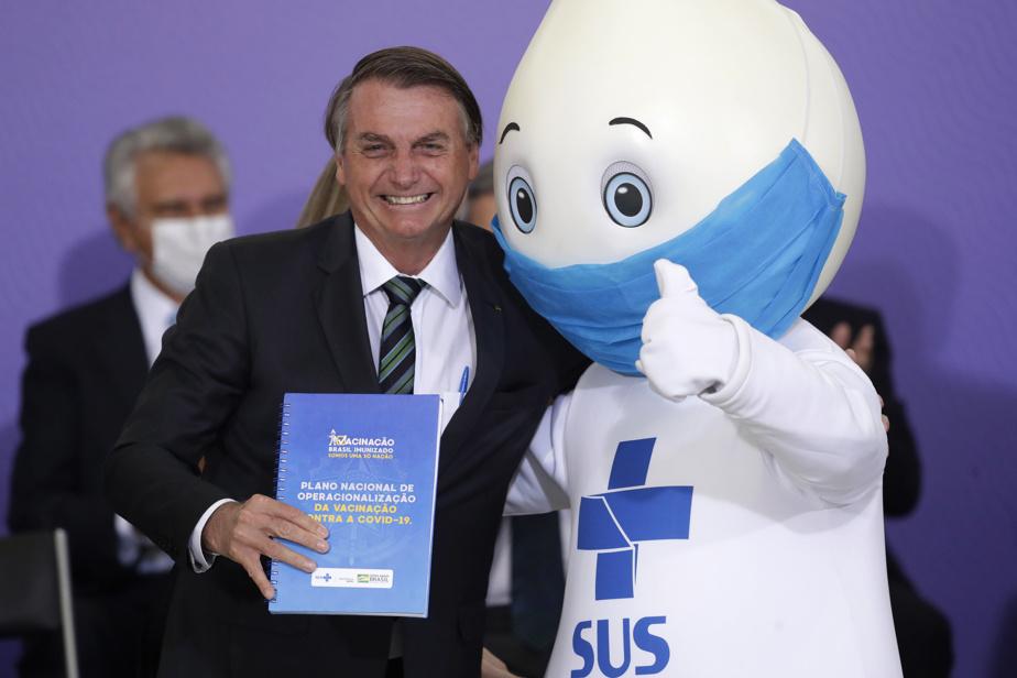 Coronavirus: Le président brésilien critique la course à la vaccination