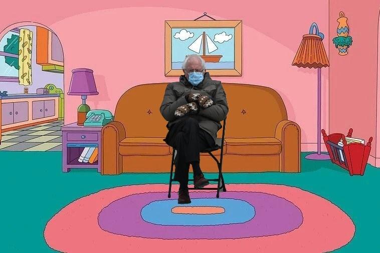 Il a déjà eu son personnage dans Les Simpson, mais il y est quand mêmeretourné.