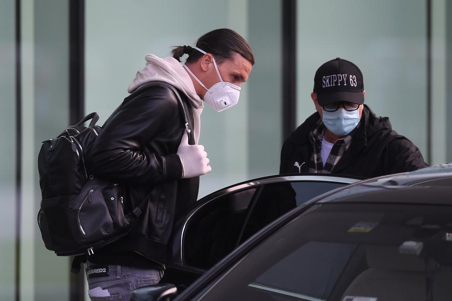Ibrahimovic de retour à Milan — Italie