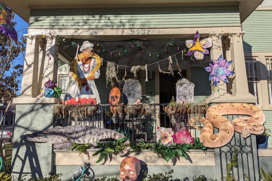 Dans le quartier Bayou Saint-Jean, cette maison rend hommage à la prêtresse vaudoue Marie Laveau, célébrité à LaNouvelle-Orléans.