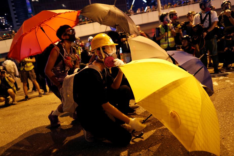 Sécurité renforcée pour le 70e anniversaire de la Chine populaire — Hong Kong