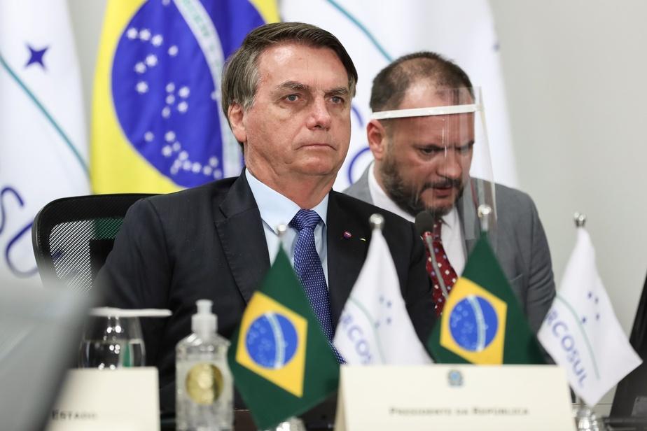 Brésil: le président Bolsonaro atteint de la COVID-19