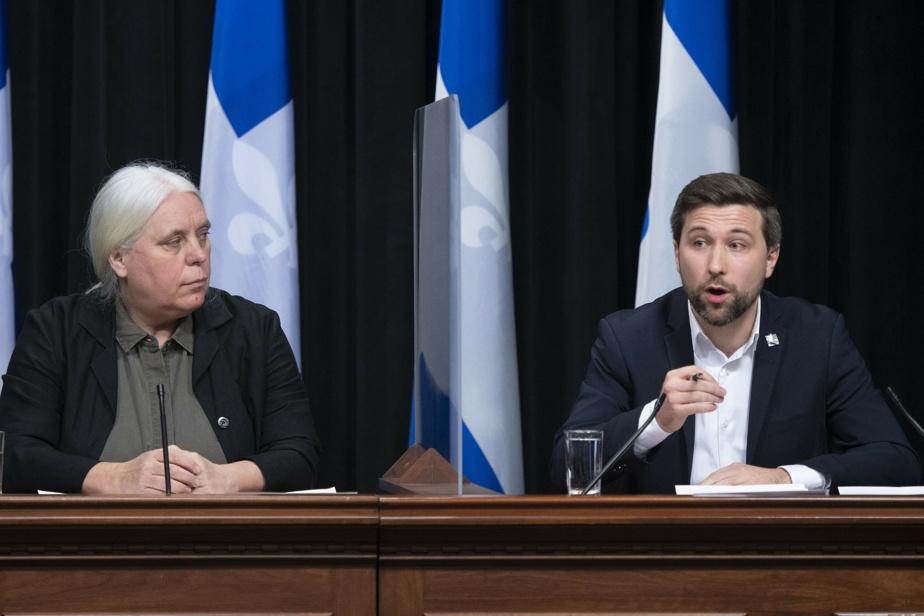 Québec solidaire Manon Massé cède sa place à Gabriel Nadeau-Dubois)