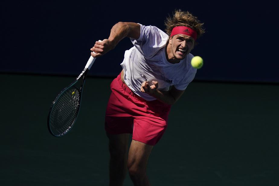 Alexander Zverev en triple vitesse en quarts de finale — US Open