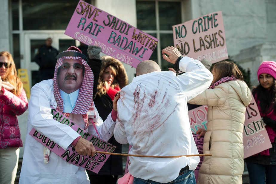 Abolition de la peine de flagellation — Arabie saoudite