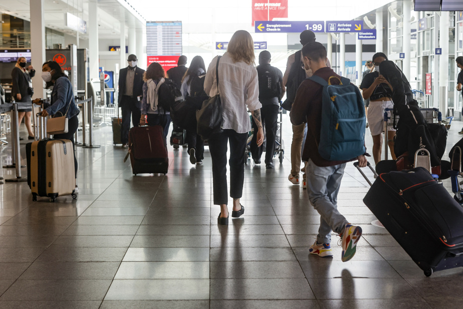 Aéroport Montréal-Trudeau | Pas de division par statut vaccinal à la douane