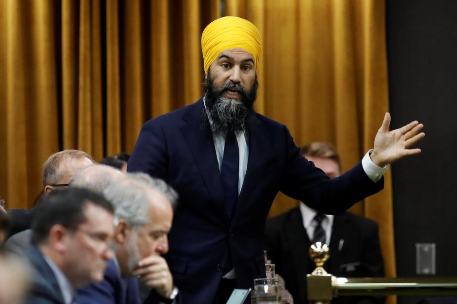 Jagmeet Singh veut pousser les libéraux «à faire mieux»