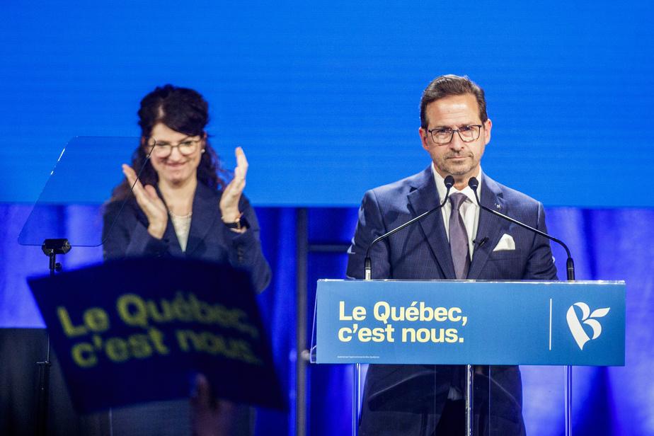 La conjointe d'Yves-François Blanchet atteinte de la COVID-19
