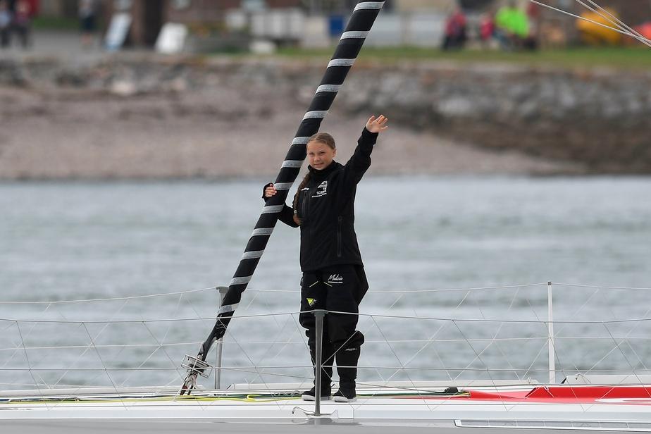 Polémique autour des émissions carbone du voyage de Greta Thunberg