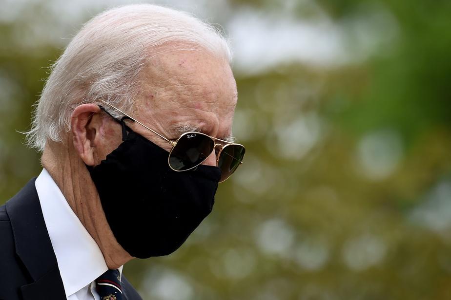 Joe Biden réapparaît en public pour la première fois depuis deux mois