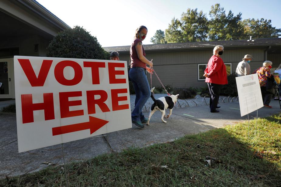 Présidentielle Un nombre record d'Américains votent par anticipation