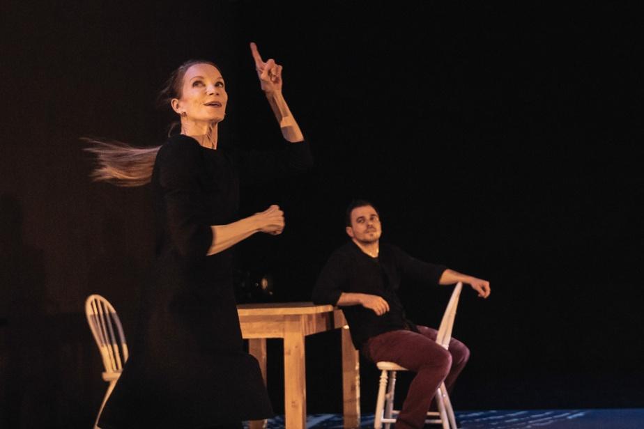 La danseuse étoile Evelyn Hart et son partenaire ZhenyaCernacov danseront une pièce qui aborde les sujets del'amour durable et du passage du temps.