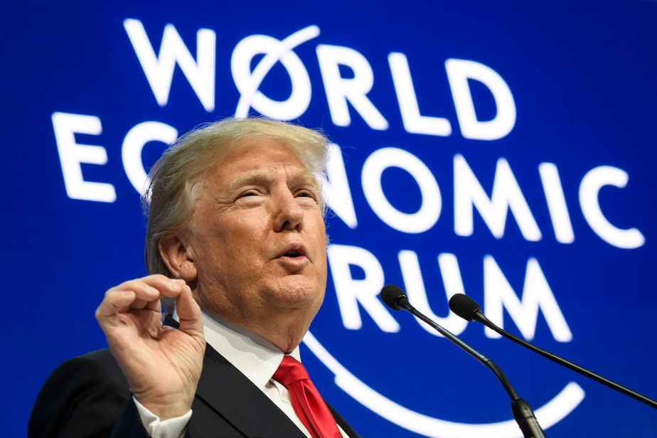 Donald Trump s'exprime au Forum économique de Davos — En direct