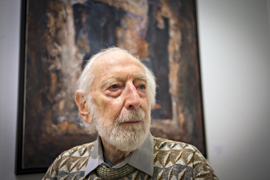 Léo Rosshandler (10juin, 97ans) Artiste, critique, commissaire, conservateur et ex-directeur adjoint du Musée des beaux-arts deMontréal.