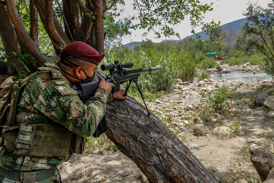 Frontière avec le Venezuela