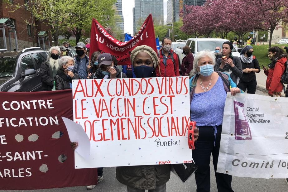 Manifestation pour le logement social | « On est en train d'abandonner des locataires »