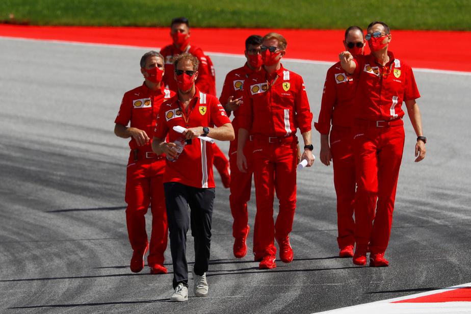 Formule 1 : au Grand Prix d'Autriche, le genou à terre des pilotes