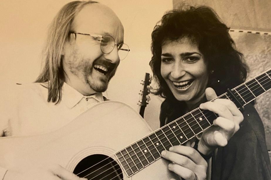 Jim Corcoran et GenevièveParis