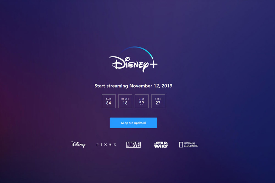 Disney mise sur un lancement international de Disney+ en plus des Etats-Unis