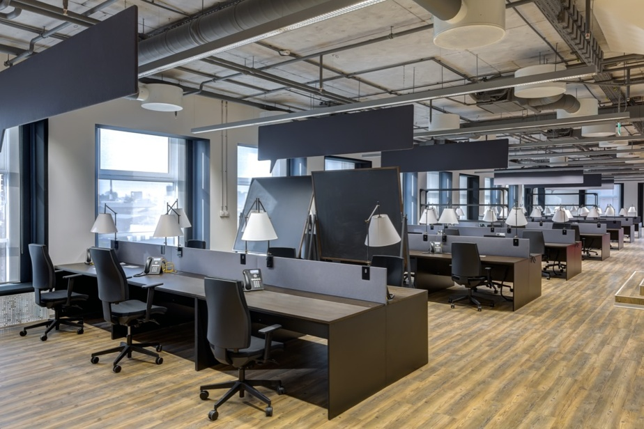Aperçu de l'allure des bureaux de futurs locataires du secteur de la technologie