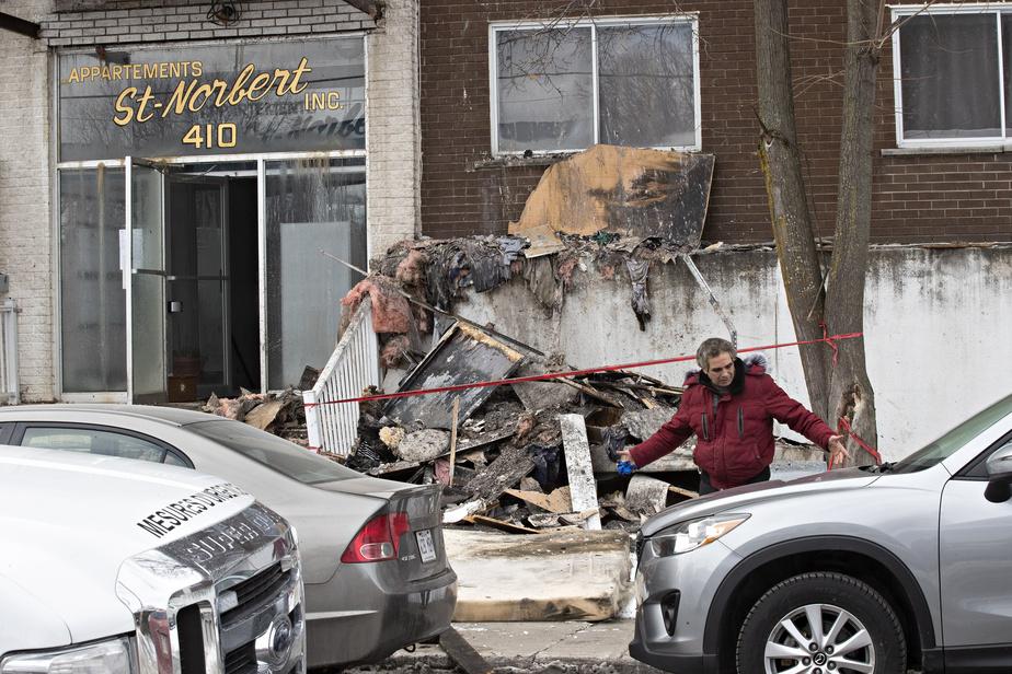 Une dispute conjugale mène à un incendie à Laval - La Presse