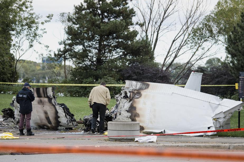 La carcasse de l'avion qui s'est écrasé dans le parc de Dieppe, à Montréal, samedi soir, sera transportée au laboratoire du Bureau de la sécurité des transports du Canada (BST), à Ottawa.