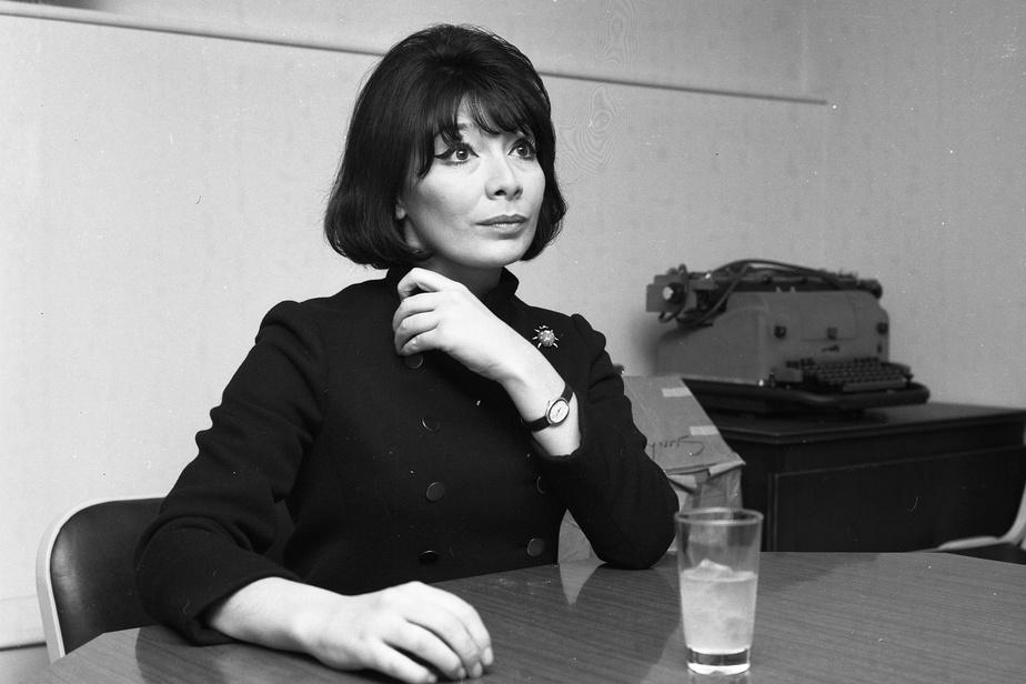 Juliette Gréco en entrevue avec La Presse, en février1967