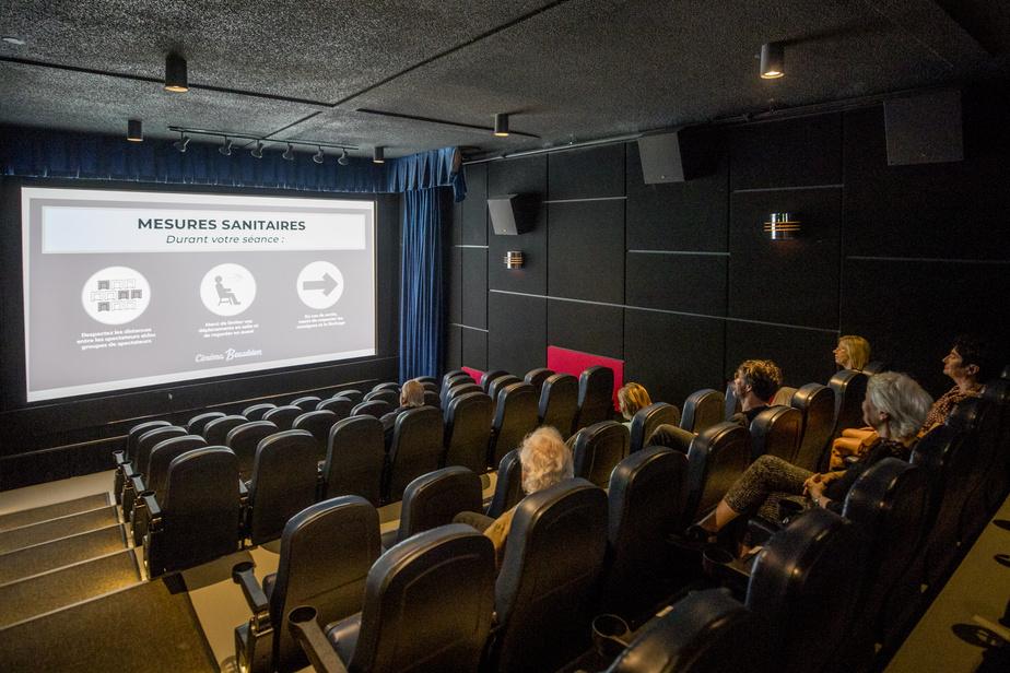 SODEC Une aide supplémentaire de 2,5millions pour les salles de cinéma