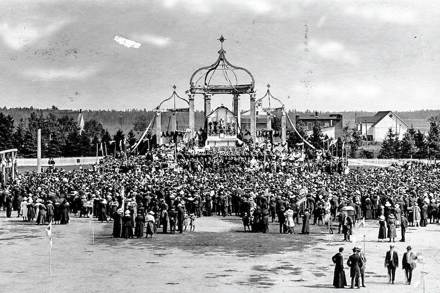 Le Congrès eucharistique de Victoriaville en 1918