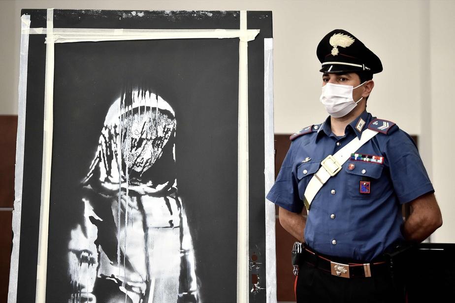 Banksy volé au Bataclan : six personnes interpellées et écrouées
