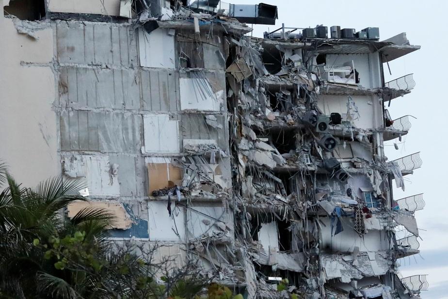 Floride Un mort dans l'effondrement partiel d'un immeuble résidentiel