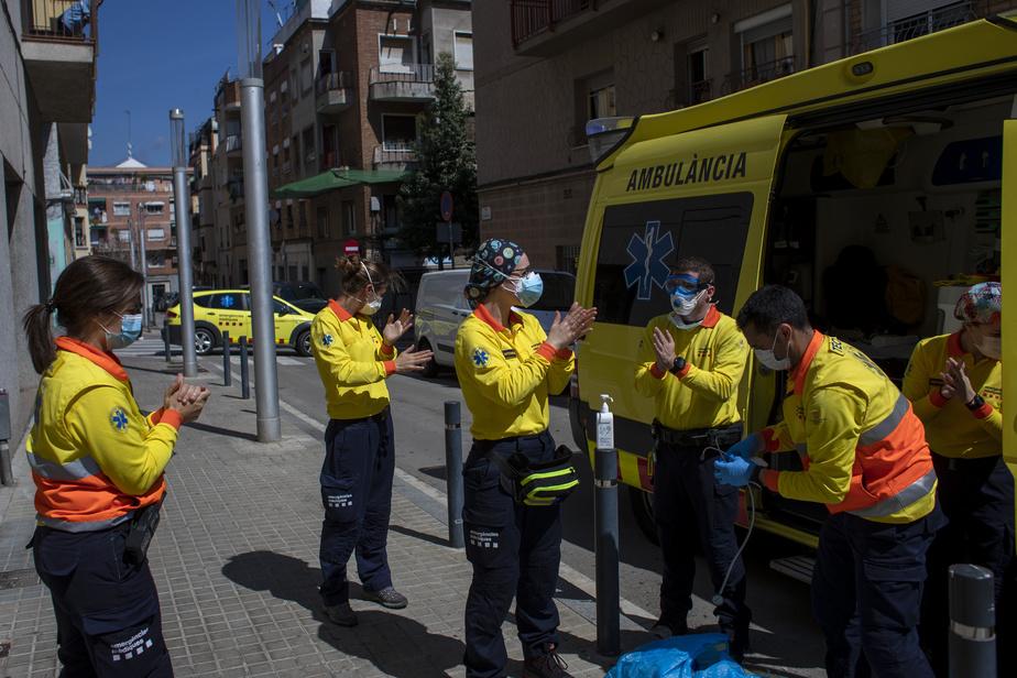 L'Espagne enregistre une nouvelle baisse du nombre de morts — Coronavirus