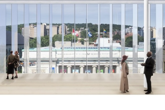 The Riopelle wing would have had a breathtaking view of Mount Royal.