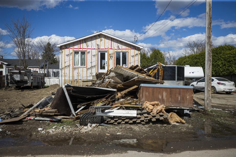 Inondations : des dommages sur plus de 600 km2