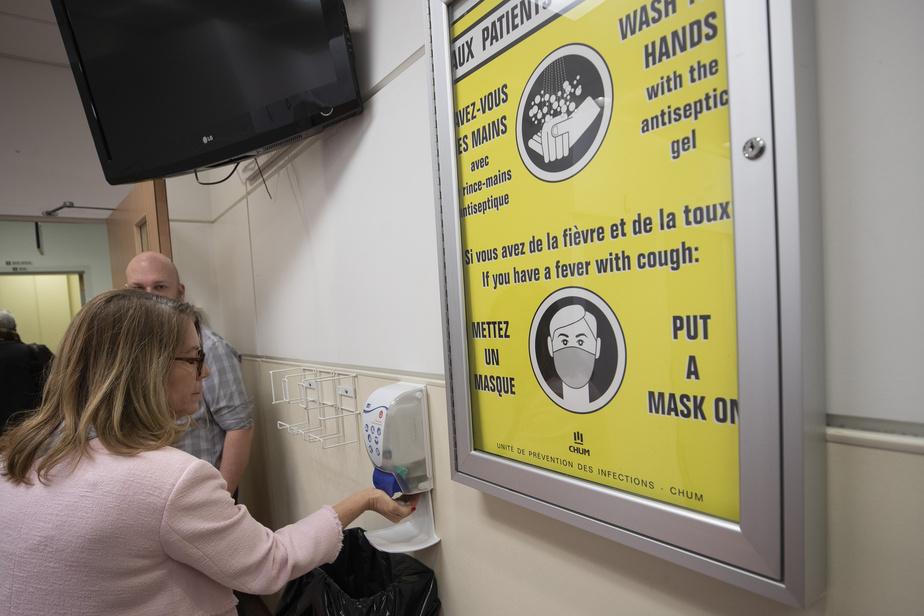 Une clinique d'évaluation du COVID-19 à Saint-Jean