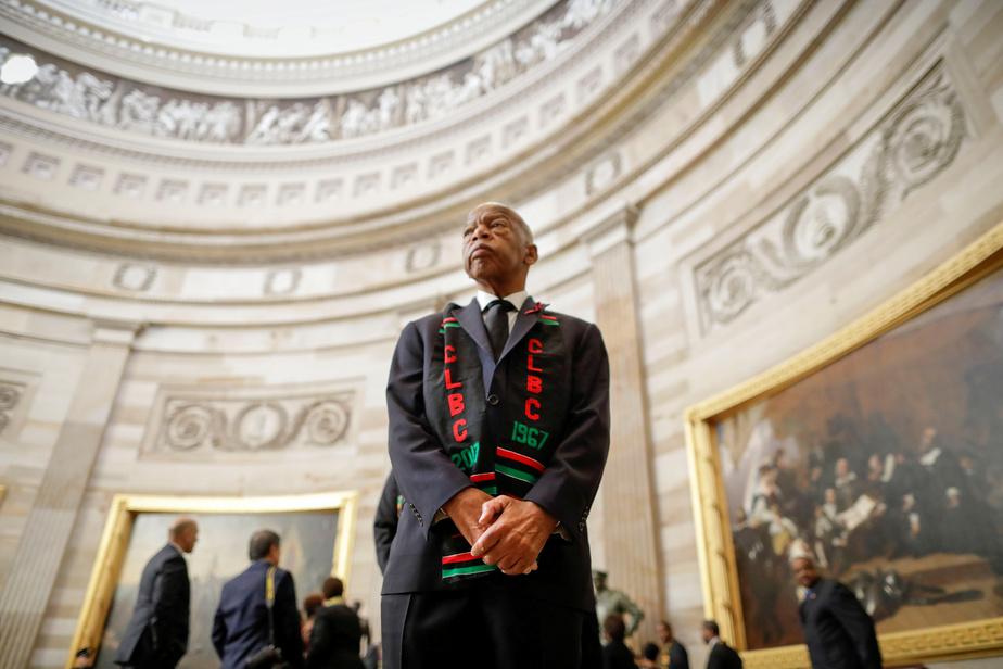 John Lewis, figure des droits civiques aux Etats-Unis, est mort