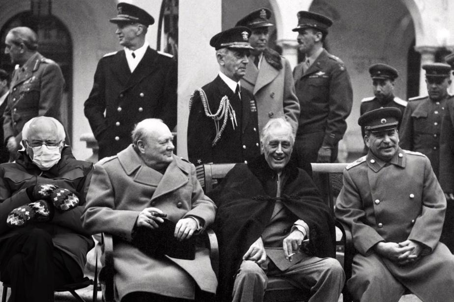 Yalta. Il y était.
