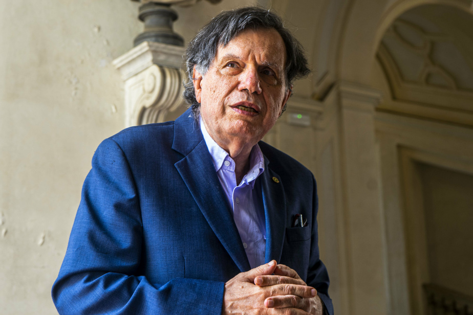 Le physicien italien Giorgio Parisi