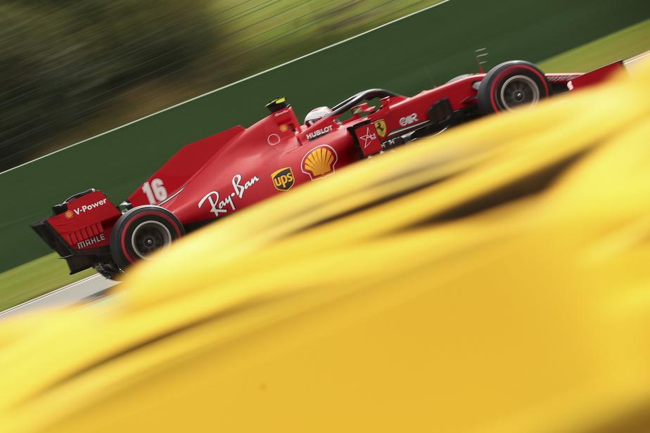 Les Ferrari ont eu chaud en Q1 - Fil Info - Formule 1 - Auto/Moto