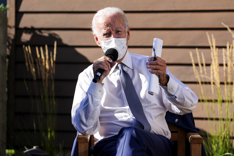Joe Biden se présente en rassembleur de l'Amérique face au racisme | La Presse