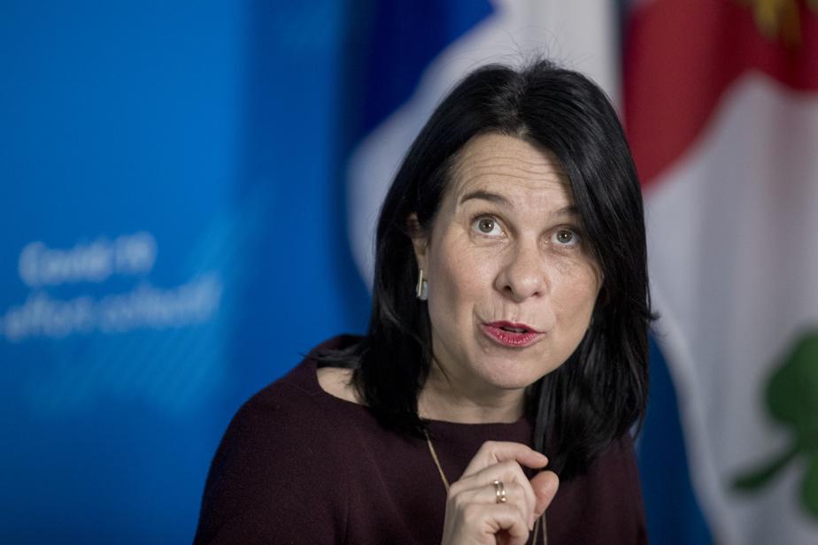 Valérie Plante évoque l'annulation du Grand Prix de Montréal pour 2021)