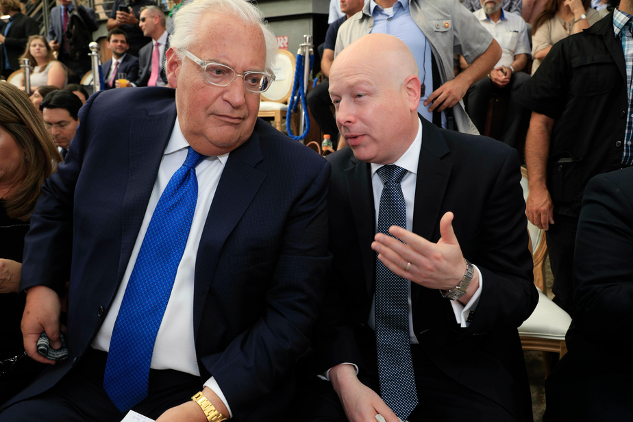 L'émissaire de Trump pour le plan de paix israélo-palestinien jette l'éponge