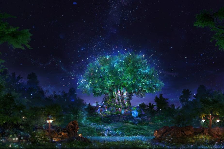 L'arbre de la vie, symbole du parc Animal Kingdom